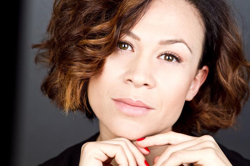 Valeria Graci, attrice, comica e conduttrice televisiva